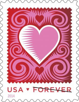 2014-Love Stamp